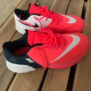 Fluorescent Pink Nike Sneakers